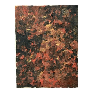 Mid Century Abstract Impasto Painting