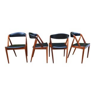 1960s Kai Kristiansen Model 31 Dining Chairs- Set of 4 For Sale