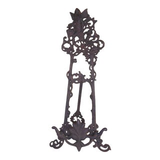 Cast Iron Art Easel For Sale