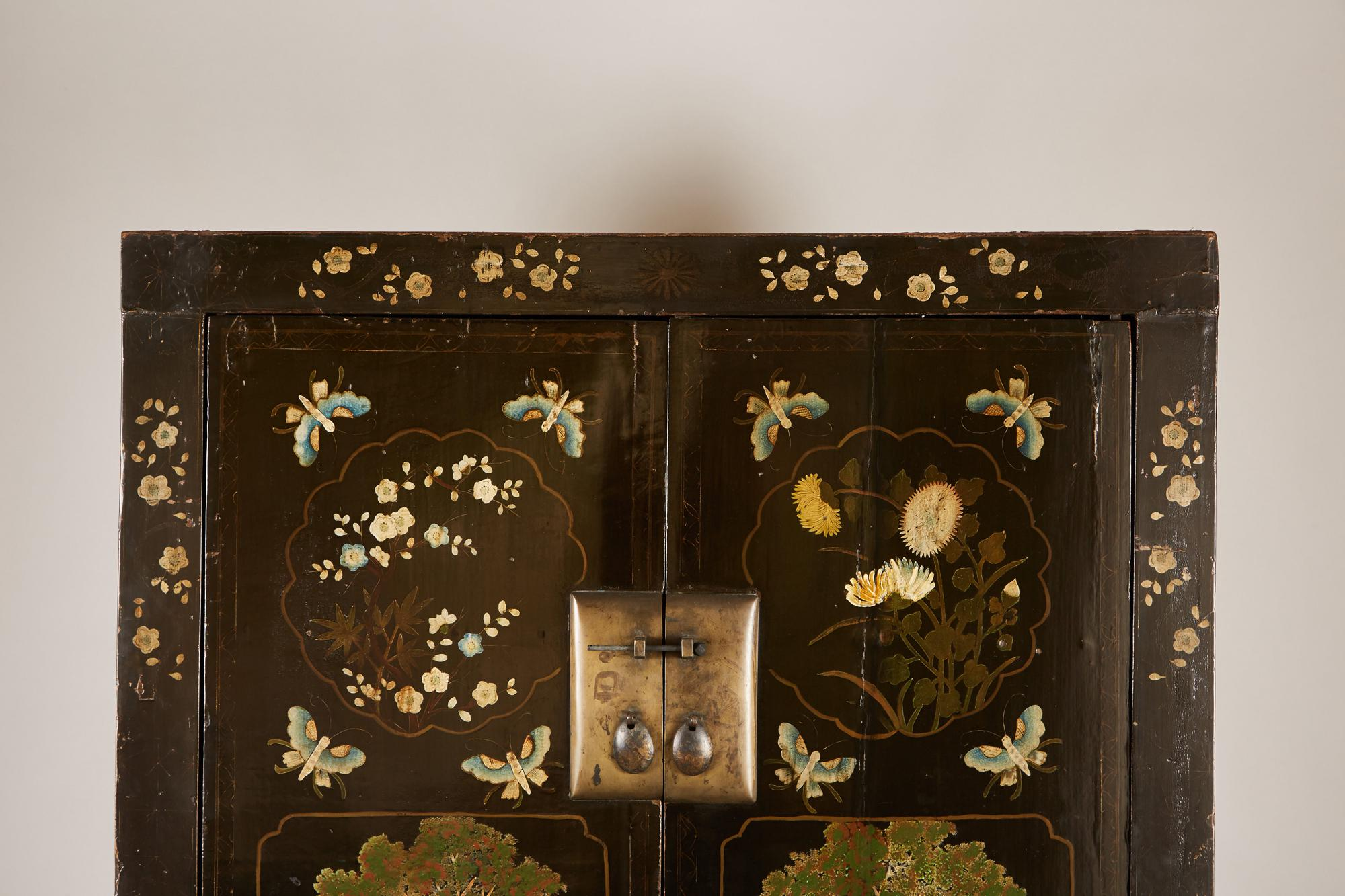 Rare Pair Of 18th Century Chinese Cabinets For Sale   Image 10 Of 11