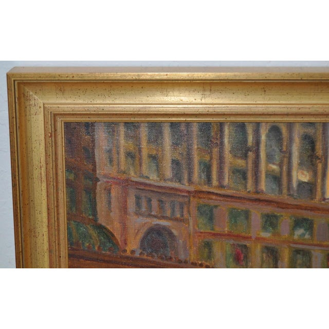 San Francisco Oil Painting by Lorain For Sale - Image 5 of 8