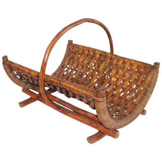 Old Hickory Magazine Rack For Sale