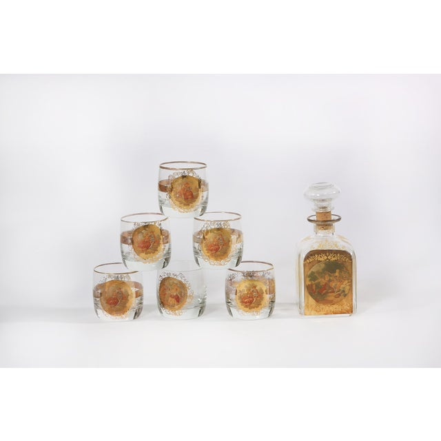 Mid 20th Century Barware Service for Six People For Sale - Image 11 of 11