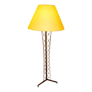 "Jean Royère Documented Genuine Floor Lamp Model ""Tour Eiffel"" For Sale"