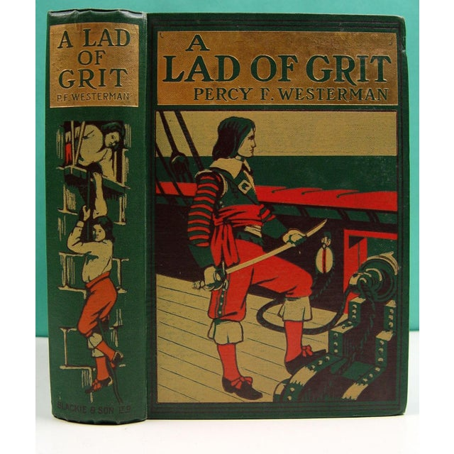 A Lad of Grit Book 1908 - Image 2 of 4