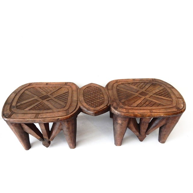 Vintage Nupe Eight-Legged Stool - Image 2 of 8