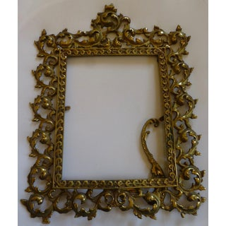 Antique 1920's Baroque Styled Picture Frame Preview