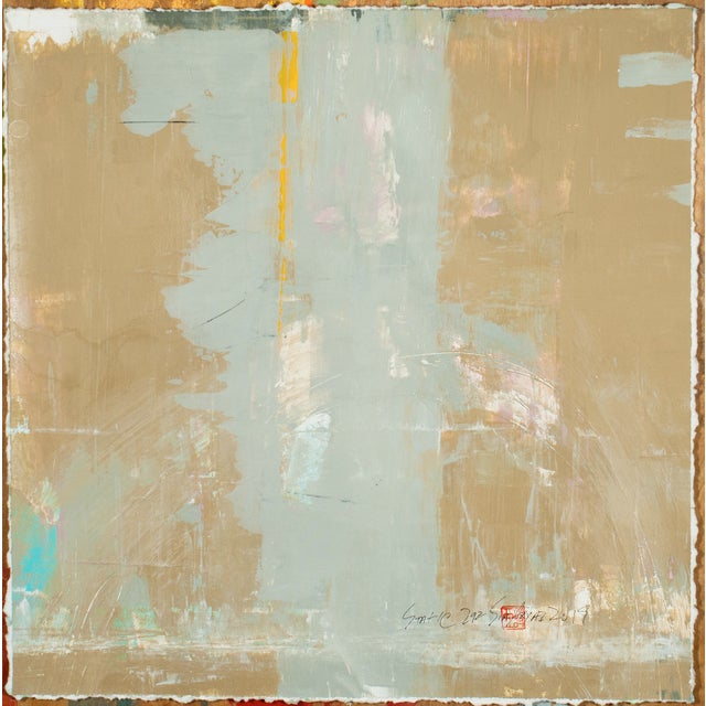 2010s Abstract Expressionist Painting, Static 292 For Sale - Image 5 of 5