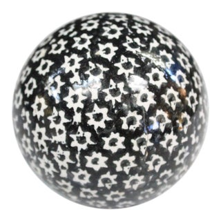 Victorian Star Carpet Ball For Sale