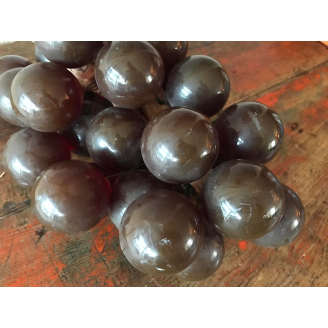 Vintage Brown Resin Grape Cluster For Sale - Image 10 of 10