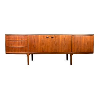 Vintage British Mid Century Modern Teak Credenza by a.h. McIntosh For Sale