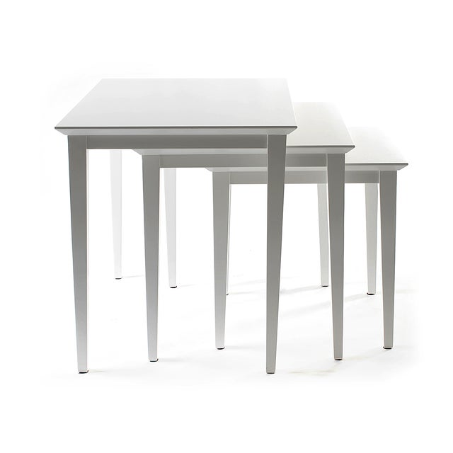 Contemporary Manhattan Nesting Tables From Covet Paris For Sale - Image 3 of 3