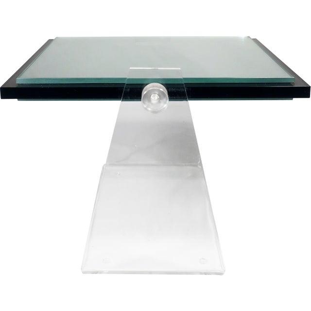 Vintage Lucite Adjustable Tabletop Mirror - Image 6 of 10