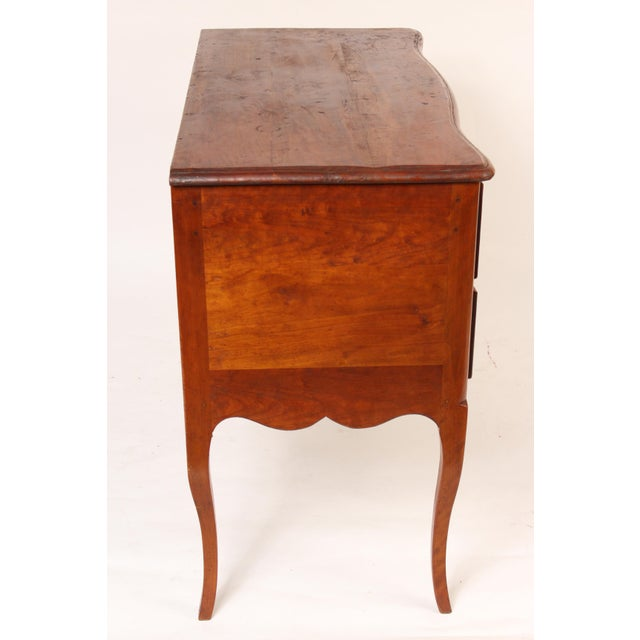 French 1900 Louis XV Provincial Style Chest of Drawers For Sale - Image 3 of 13