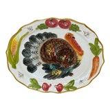 Image of Vintage Italian Turkey Platter For Sale