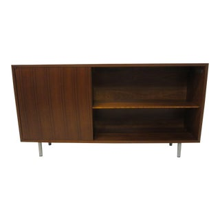 Mid 20th Century George Nelson Walnut Bookcase for Herman Miller For Sale
