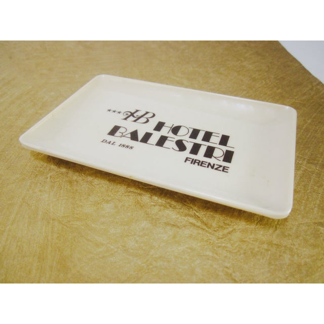 Vintage Hotel Balestri Italian Tip Tray - Image 6 of 6
