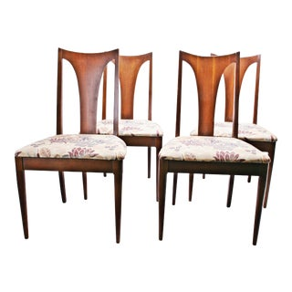 Broyhill Brasilia Mid Century Modern Dining Chairs - Set of 4