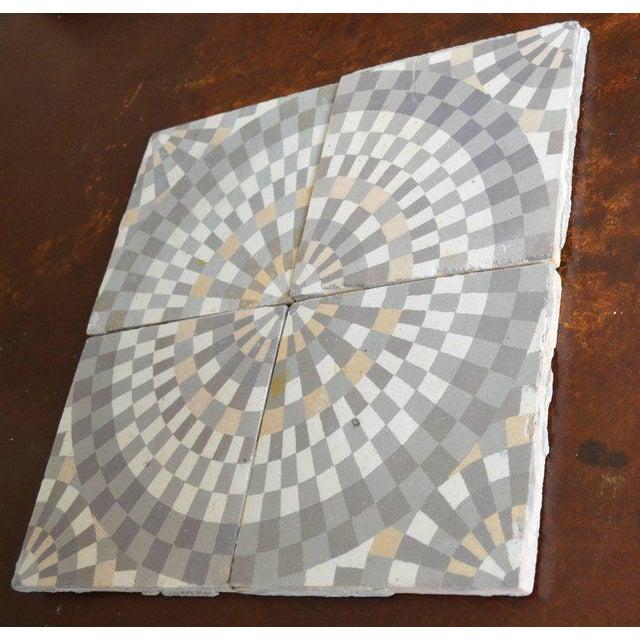 Antique Belgian Ceramic Tiles - Set of 4 - Image 4 of 11