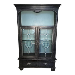 Vintage China Hutch or Curio Cabinet