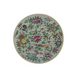 Image of Antique Chinese Wucai Porcelain Plate For Sale