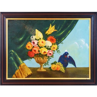 Italian Provincial 19th Century Still Life Oil Painting For Sale