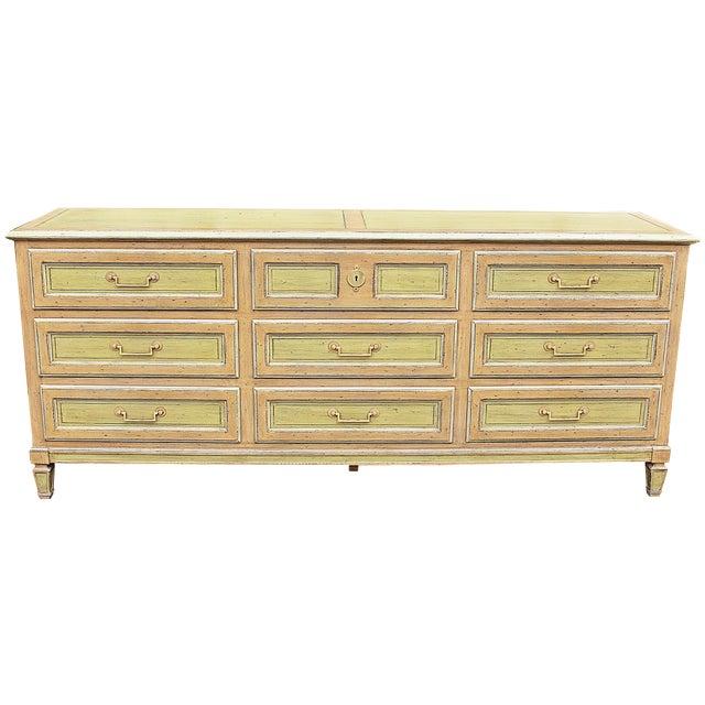 Painted Baker Triple Dresser - Image 1 of 8