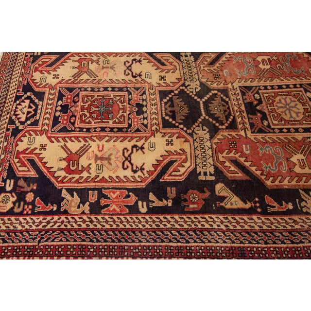 """1960s Apadana - Vintage North West Persian Rug, 4'3"""" X 10'4"""" For Sale - Image 5 of 8"""