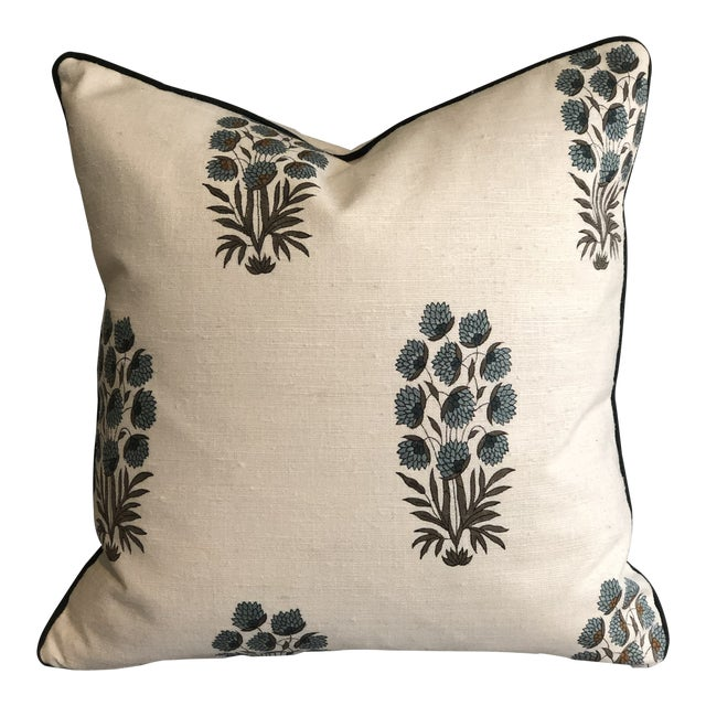 Custom Muriel Brandolini Silk Throw Pillow For Sale