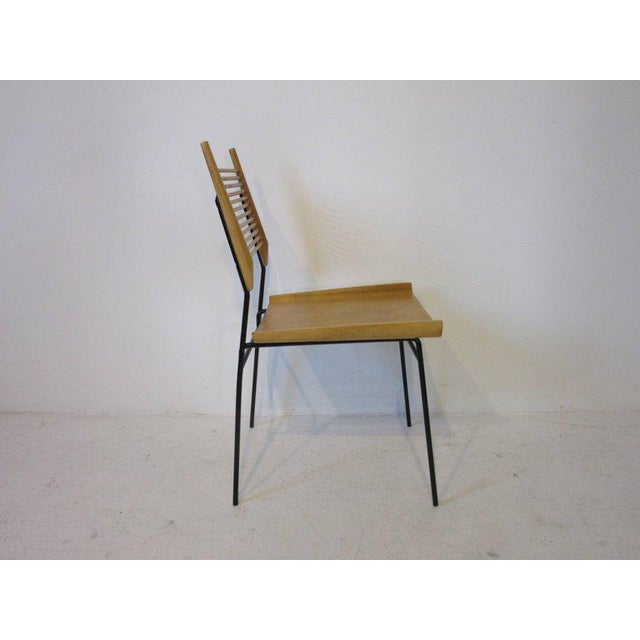 Mid-Century Modern Paul McCobb Shovel Seat Dining Chairs from the Planner Group - set of 4 For Sale - Image 3 of 8