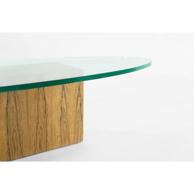 Brown Rosewood Coffee Table by Harvey Probber, 1950s For Sale - Image 8 of 12