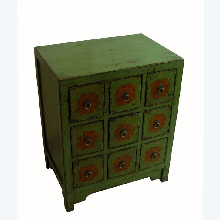 Asian Small Chinese Medicine Cabinet For Sale   Image 3 Of 8