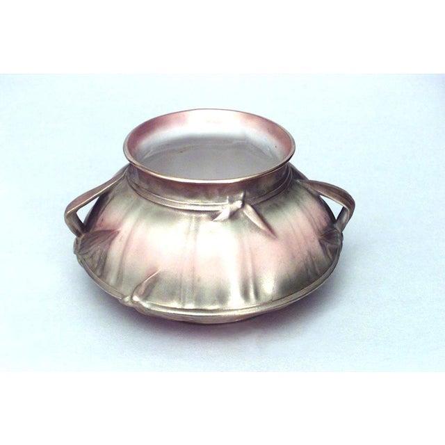 English Victorian Beige Porcelain and Gilt 13 Piece Tea Set For Sale - Image 4 of 8