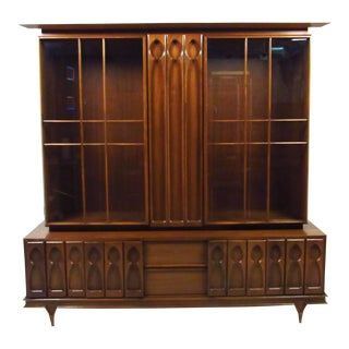 Vintage Modern Sideboard or China Cabinet For Sale