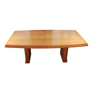 1980s Modern Giguere & Morin Modern Dining Room Table For Sale