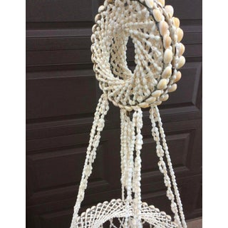 Boho Chic Hanging Seashell Chandelier Preview