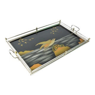 1930s Art Deco French Serving Tray For Sale