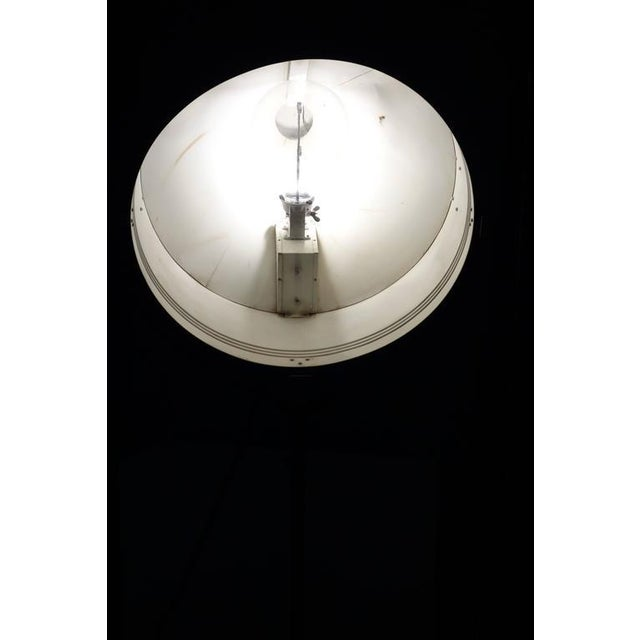 Rare Model Hollywood Movie Studio Light Circa 1950 As Sculpture With Stand For Sale - Image 9 of 12
