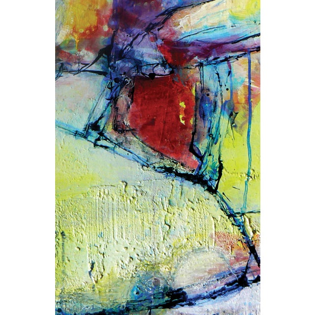 Abstract Painting Rhapsody of Spring - Image 4 of 4