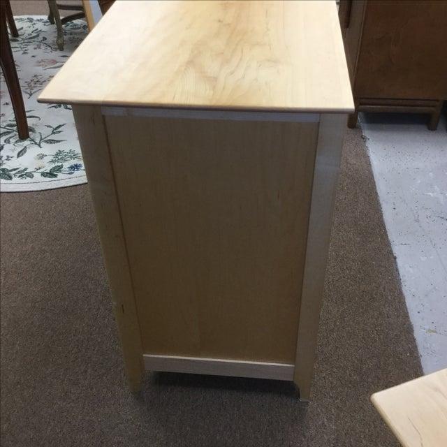 Copeland Cherry & Maple Wood Dresser - Image 3 of 5