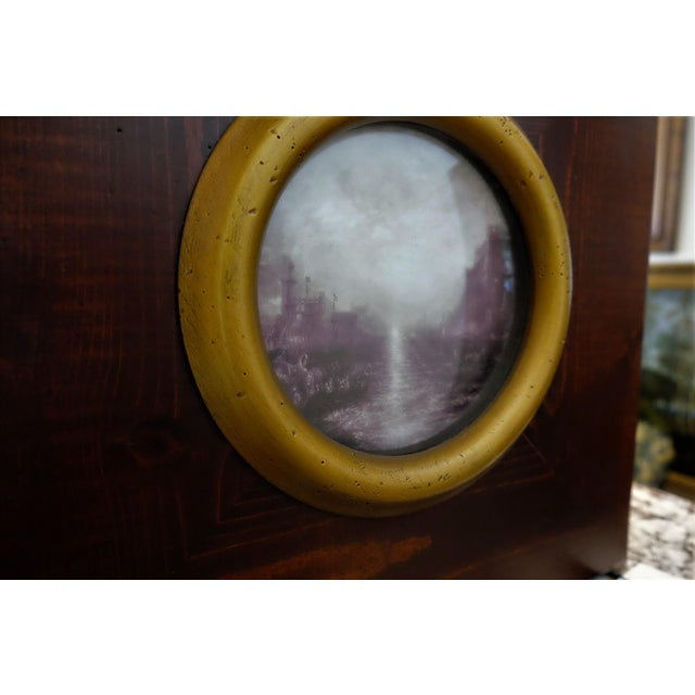 English Traditional Picturesque Turner Scene With Convex Glass For Sale - Image 3 of 7