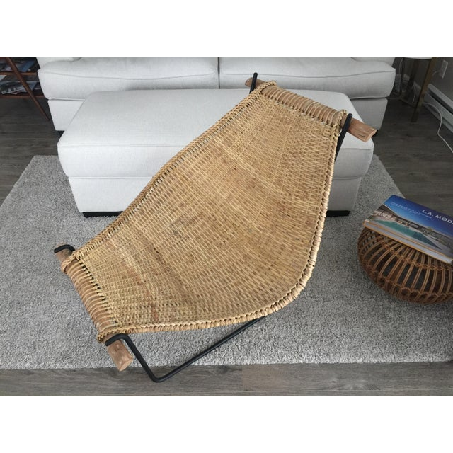 Selling a Duyan Lounge Chair by John Risley. This is in nice vintage condition with some wear consonant with age. Made of...