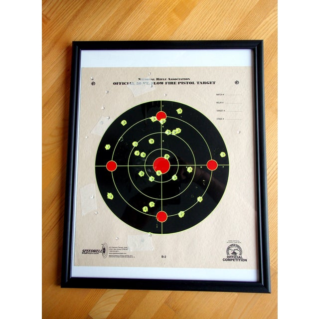 Framed NRA Shooting Target - Image 2 of 11