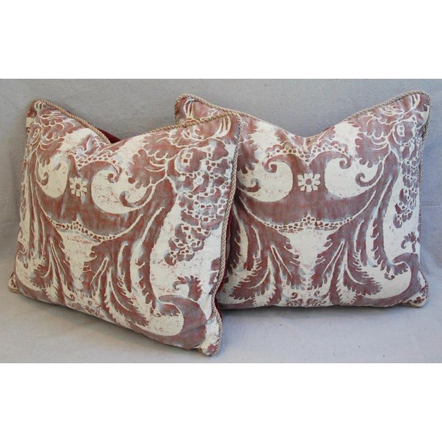 Mariano Fortuny Glicine & Mohair Pillows - A Pair - Image 8 of 10