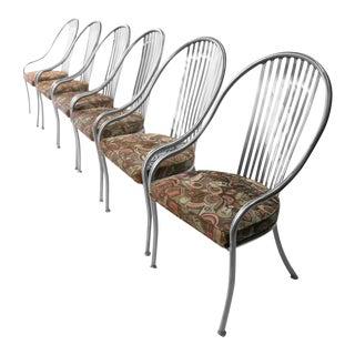 Arthur Umanoff for Shaver Howard Mid-Century Steel Chairs - Set of 6
