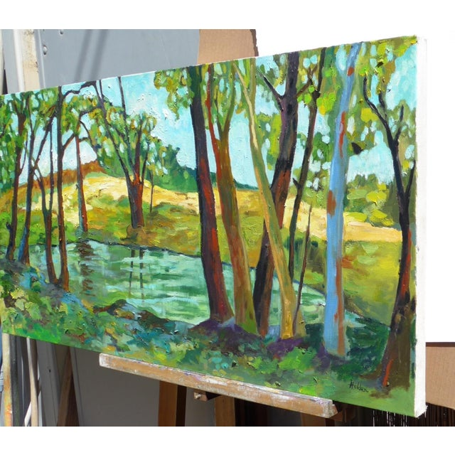 Contemporary Summer Landscape Painting - Image 4 of 5