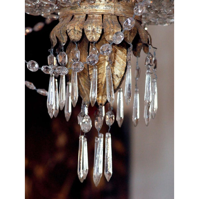 AN EARLY 19C TUSCAN CHANDELIER For Sale In New Orleans - Image 6 of 6