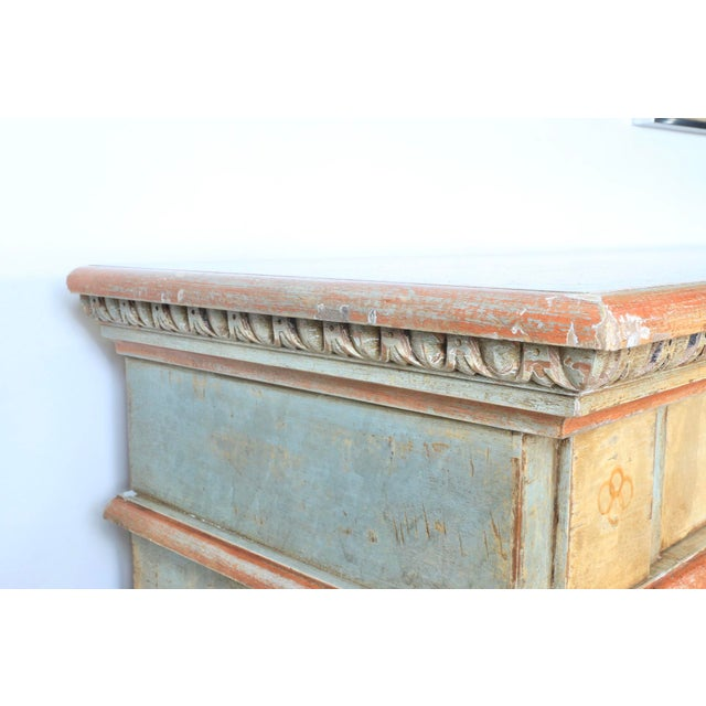 1970s Hand Painted Italian Cabinet For Sale - Image 9 of 13