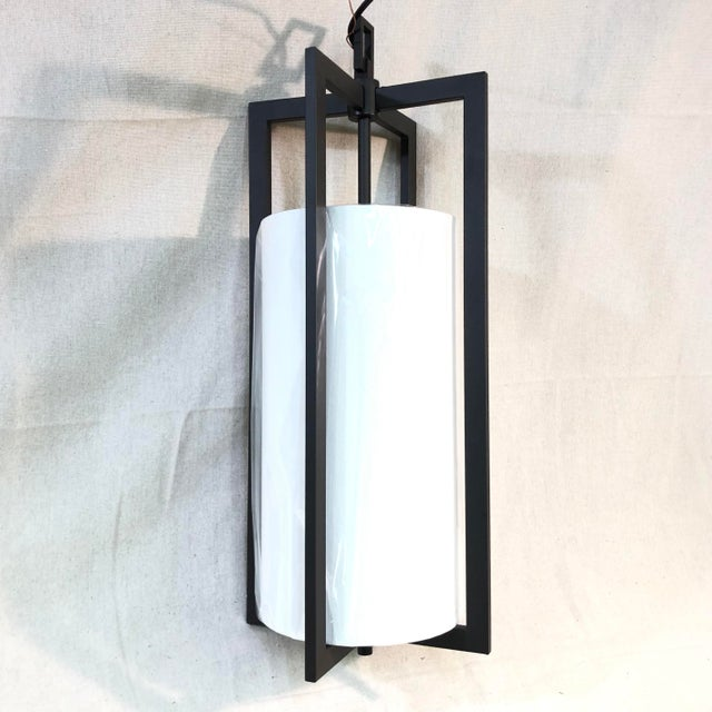 Hinkley Lighting Hampton Large Pendant Light in Buckeye Bronze - Showroom Sample This pendant light features a minimal...