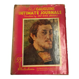 Paul Gauguin's Intimate Journals 1936 For Sale